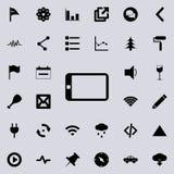 El icono de la tableta Sistema detallado de iconos minimalistic Diseño gráfico superior Uno de los iconos de la colección para lo libre illustration