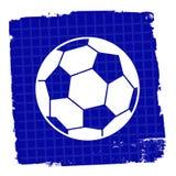 El icono del fútbol significa al campeón Team And Goal Fotos de archivo