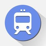 El icono del tren grande para ningunos utiliza Vector eps10 Imagenes de archivo