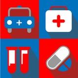 El icono médico grande para ningunos utiliza Vector eps10 Imagenes de archivo