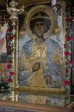El icono ortodoxo Foto de archivo libre de regalías