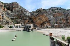 EL idroelettrico centrale Molinar I immagine stock