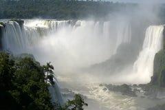 el iguassu baja en el Brasil fotografía de archivo libre de regalías
