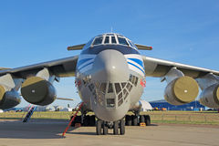 El Ilyushin Il-76MD-90A Imágenes de archivo libres de regalías