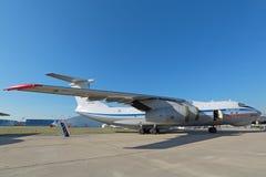 El Ilyushin Il-76MD-90A Imagen de archivo libre de regalías