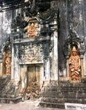 El inclinarse del significado de Inghang de la pagoda de Inghang del árbol de la sal, fue construido entre el 10mo-11mo siglo bud Fotos de archivo libres de regalías