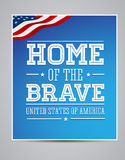El indicador americano redacta el día el 11 de septiembre de 2001 del patriota libre illustration