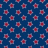 El indicador americano stars el fondo Foto de archivo