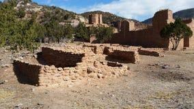 El indio arruina New México Imágenes de archivo libres de regalías