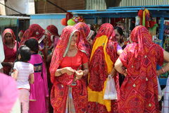 El indio tradicional justo Foto de archivo libre de regalías