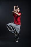 El individuo de Hip-hop está bailando Imagenes de archivo