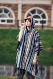 El individuo en el estilo del reggae Fotografía de archivo