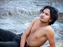 El individuo joven Fotografía de archivo
