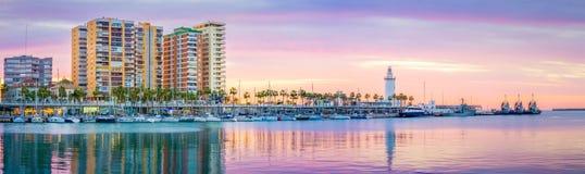 El infante de marina de Málaga fotos de archivo libres de regalías