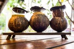 El ingrediente y el x28; Sugar Chili Vinegar y x29; para los tallarines tailandeses Imagenes de archivo