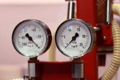El instrumento para la presión de medición Imágenes de archivo libres de regalías