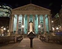 El intercambio real en Londres Fotografía de archivo libre de regalías