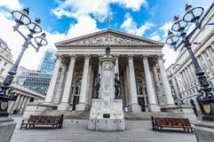 El intercambio real, Londres, Reino Unido Foto de archivo