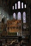 El interior de Ely Cathedral fotos de archivo libres de regalías