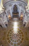 El interior de Engracia de la iglesia del panteón nacional ahora lisboa Imagen de archivo