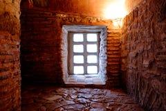 El interior de Hagia Sophia, Ayasofya, Estambul Ventana Fotografía de archivo