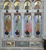 El interior de la catedral naval de San Nicolás Imagen de archivo libre de regalías