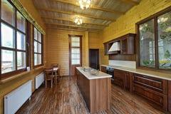 El interior de la cocina Imágenes de archivo libres de regalías