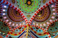 El interior de la mezquita de Jalil, Erbil fotos de archivo