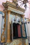 El interior de la sinagoga más vieja de Francia, en Cavaillon, ahora un museo fotos de archivo