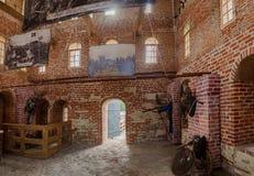El interior de la torre del Novgorod el Kremlin Fotografía de archivo