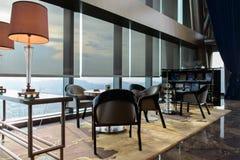 El interior de Regis Hotel del santo Imágenes de archivo libres de regalías