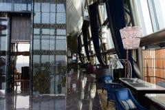 El interior de Regis Hotel del santo Imagenes de archivo