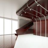 El interior de un cuarto vacío Imagen de archivo libre de regalías
