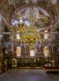 El interior de un monasterio foto de archivo