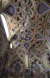 El interior de un palacio del cuento de hadas fotografía de archivo