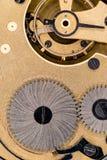 El interior de un reloj de bolsillo Imagen de archivo