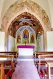 Pequeña iglesia del país Imagenes de archivo