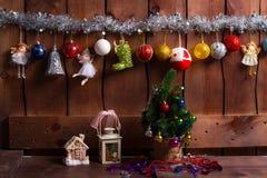 El interior del Año Nuevo Imagenes de archivo