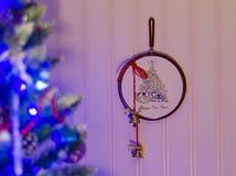 El interior del Año Nuevo Fotografía de archivo libre de regalías