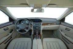 El interior del coche Imagen de archivo libre de regalías