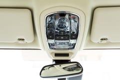 El interior del coche en colores brillantes Foto de archivo libre de regalías