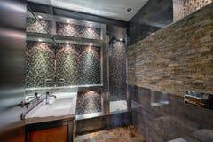 El interior del cuarto de baño Imágenes de archivo libres de regalías