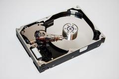 El interior del disco duro Fotografía de archivo libre de regalías