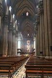 El interior del Duomo Milano Fotografía de archivo libre de regalías