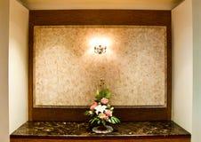 El interior del hotel Foto de archivo