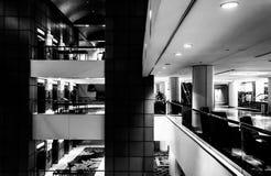 El interior del JW Marriot en Washington, DC Imágenes de archivo libres de regalías