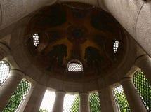 El interior del mausoleo de Poznanski Fotografía de archivo
