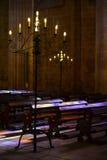 El interior del monasterio de Batalha, Portugal Imagen de archivo libre de regalías