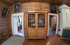 El interior del museo Suvorov Imagen de archivo