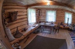 El interior del museo Suvorov Imagenes de archivo